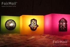 Photographed by Ibtissam Atanan from Morocco - Christmas and New Year - Holiday - Spirituality - Sympathy - Hamsa - Light - FairMail - Fair Trade Photos - MIBA-0010