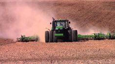 John Deere 9620R and 55ft John Deere 2210 Field Cultivator