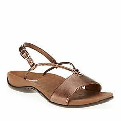 Vionic with Orthaheel Technology Women's Mia Sling Sandals :: Wellness Shoes :: Shop now with FootSmart
