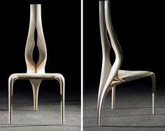Chair by designer Joseph Walsh.