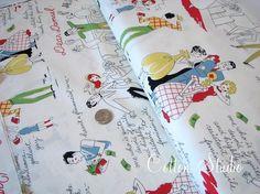 Dear Damsel Michael Miller Fabric 1 Yard by CottonStudio on Etsy, $8.95