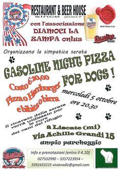 """Pizza for dogs nella Gasoline Night di """"Diamoci La Zampa"""" :http://www.qualazampa.news/event/pizza-for-dogs-nella-gasoline-night-di-diamoci-la-zampa/"""