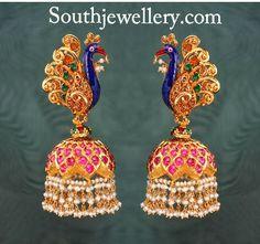 Meenakari Jewellery - Indian Jewellery Designs South Jewellery