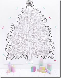 A Holiday Coloring Book