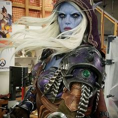 Sylvanas Windrunner. Our latest statue for Blizzard Entertainment now at Blizzcon this weekend.