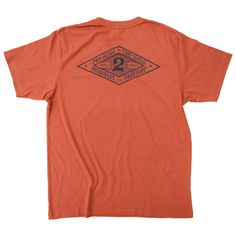 Two Hands, Two Tools - Burnt Orange - HookandIrons - The Rebirth of Fire Apparel