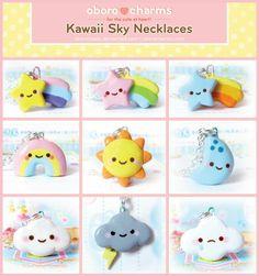 kawaii sky necklace
