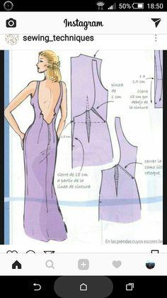 One shoulder dress pattern . Sewing Clothes, Diy Clothes, Sewing Hacks, Sewing Tutorials, Clothing Patterns, Sewing Patterns, Pattern Draping, Modelista, Dress Making Patterns