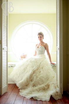 Bridal portrait idea at Lowndes Grove