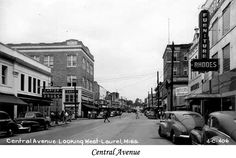 Laurel, Mississippi - looks like so many small American towns of yesteryear....