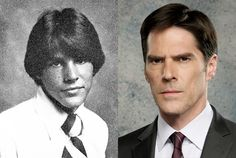 Thomas Gibson as Aaron Hotchner is so different than Greg but I love his intensity.