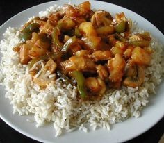 Ajam Manis Pedis (pittige, Zoete Kip) recept | Smulweb.nl Spicy Recipes, Healthy Chicken Recipes, Indian Food Recipes, Asian Recipes, Cooking Recipes, Ethnic Recipes, Caribbean Recipes, Indonesian Food, Cold Meals