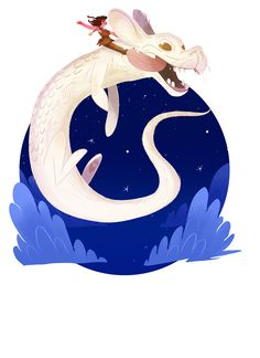 The Art Of Animation, Giulia Rivolta ~~~ The Neverending story - best movie of childhood Character Concept, Character Art, Character Design, Illustrations, Illustration Art, The Neverending Story, Fanart, Fantasy Creatures, Weird Creatures