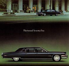 1973 Cadillac Fleetwood Seventy-Five Limousine