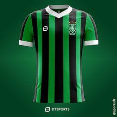 c372b5eeb3 Camisa do América Futebol Clube de Belo Horizonte-MG