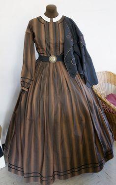 american civil war women clothing -