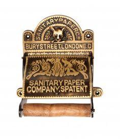 Toilet Paper Holder #Antique Brass Sanitary Tissue #Holder # 17506 Shop --> http://www.rensup.com/Toilet-Paper-Holder/Toilet-Paper-Holder-Antique-Brass-Sanitary-Paper-Co-Tissue-Holder/pd/17506.htm?CFID=1284003&CFTOKEN=b81bd4727ef28578-BCA8538F-C96A-F561-47369B6C8E36E7AA