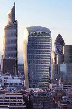 The Walkie Talkie Fenchurch Street City of London - this one I like!