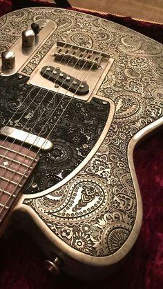Paisley Guitar