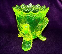 Vintage VASELINE Glass TOOTHPICK Holder HONEYCOMB by GypsySeller, $8.50 (looking for my booth