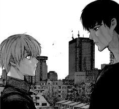 Kaneki and Amon (Chapter 119 :re )