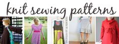 Noodlehead: sewing with knits mondays: where to shop, patterns, and wrap up