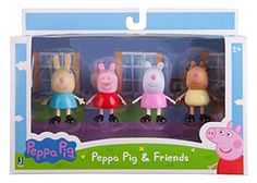 Peppa & Best Friends Pack (Rebecca Peppa Suzy and Pedro). Play in the mud oink and hang with Peppa & her friends!....