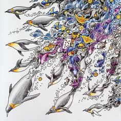 #imagimorphia #imagimorphiacolouringbook #coloring #malbuch… --> If you're in the market for the top adult coloring books and supplies including gel pens, colored pencils, watercolors and drawing markers, check out our website at http://ColoringToolkit.com. Color... Relax... Chill.