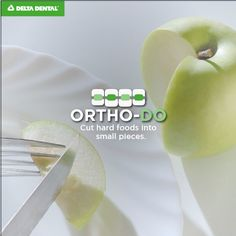 Have braces? Enjoy your favorite foods with this Ortho-DO! Plaque Removal, White Smile, Healthy Teeth, Orthodontics, Oral Health, Blog Tips, Teeth Whitening, Braces, Dental