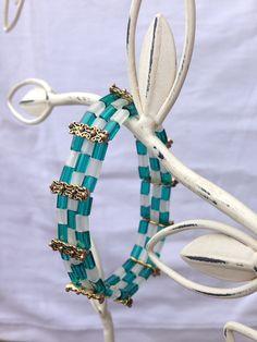 Pin Me! Checkerboard Bracelet by Naomi Dolin-Aubertin Or Buy Me on URCrafti.com