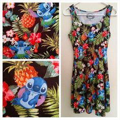 ISO Looking for this Disney Stitch floral dress, I purchased one from Hot Topic last year & absolutely adore it & really kicking myself for not buying another. They are now sold out so please let me know if you have/seen one, any size will pretty much work. :) It has to be THIS print, not the Lilo one they just recently released. TIA.  Hot Topic Dresses