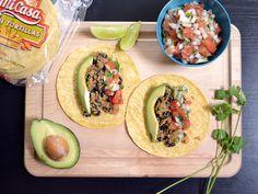 Quinoa Black Bean Tacos #Mexican #affordable