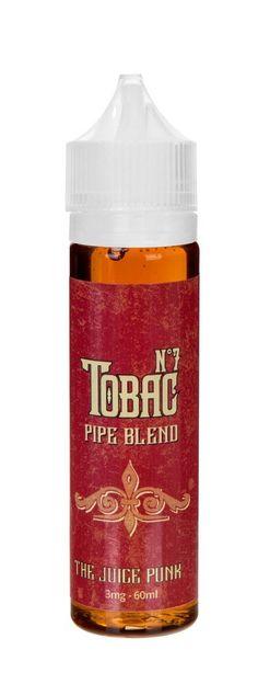 Tobac No 7 - Pipe Blend - 60ML- 70VG/30PG - The Juice Punk