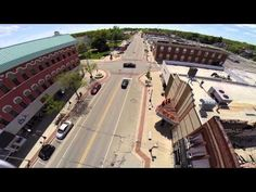 Phantom 2 checks out cooked building, - YouTube