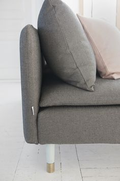 Classic Grey. Söderhamn 3 seater sofa cover in Coffee/Sand Beige Briken…