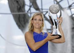 Newly-crowned world number one Angelique Kerber says shehas nothing left…