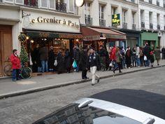 BoulangerieGrenier à Pain é 38, rue des Abesses, Paris 18e.