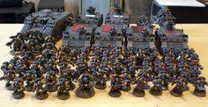 warhammer 40k space wolves fenrisian wolves scheme - Google Search