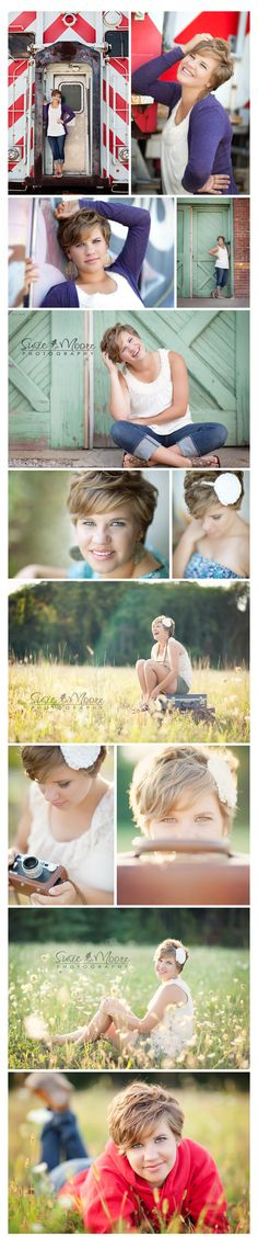 Darling girl and fun senior session - Susie Moore Photography