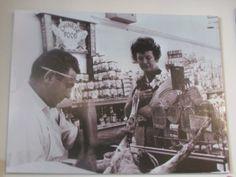 Julia Child and Jack Savenor, her butcher.