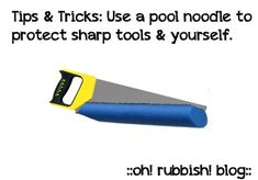 organizedCHAOSonline » This Ain't your Mama's Noodle! Functional Uses for Pool Noodles.