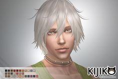 Kijiko Sims: Shaggy long hair for him - Sims 4 Hairs - http://sims4hairs.com/kijiko-sims-shaggy-long-hair-for-him/
