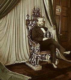 """#MonarquiaJá on Instagram: """"O Magnânimo em seu trono. 👑 #MonarquiaJá #MonarquistaSegueMonarquista #monarquiaja"""" Empire, History, Instagram, Natural, Style, Rio De Janeiro, Old Pictures, Portrait, Historical Photos"""