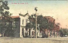 Main street Clover SC, 1909