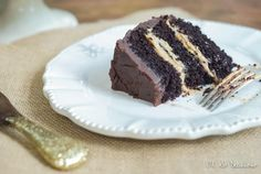 Cinnamon Salted Caramel Chocolate Cake | Oh So Delicioso