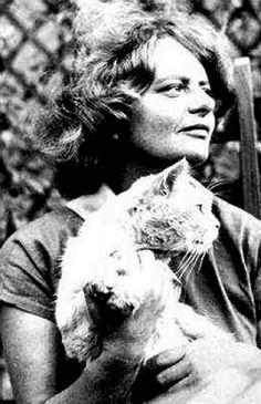Italian Writer Elsa Morante