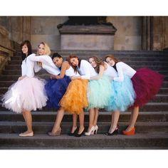 Adults Girl Ballet Party Dance Fancy Tutu Skirt Women Tulle Dress Size