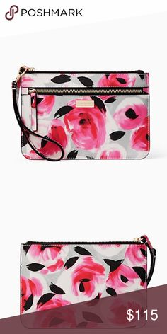 be49ccd5b119 Kate Spade Floral Wristlet New with tags. Absolutely beautiful