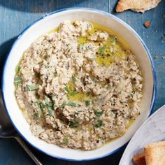 Grilled Baba Ghanoush | MyRecipes.com