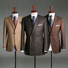 Established in 2010 Oscar Hunt uses traditional methods to create your own distinct style. Mens Fashion Suits, Mens Suits, Men's Fashion, Gentlemen Wear, Designer Suits For Men, Brown Suits, La Mode Masculine, Tailored Suits, Well Dressed Men